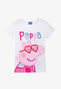 Peppa Pig - Print T-shirt - white - 0