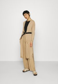 Esprit - LONG - Cardigan - beige - 1