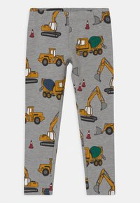Lindex - VEHICLES - Leggings - Trousers - grey melange - 0