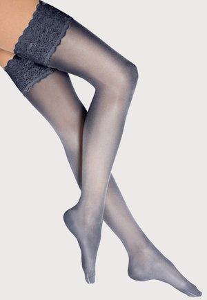 TOUCH - Over-the-knee socks - dark blue