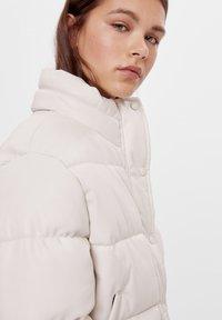 Bershka - Winter jacket - white - 3