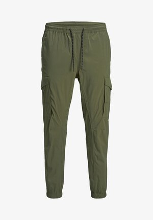 JOGGINGHOSE HOSEN - Tracksuit bottoms - olive night