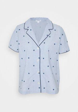 POPLIN - Pyjamashirt - blue