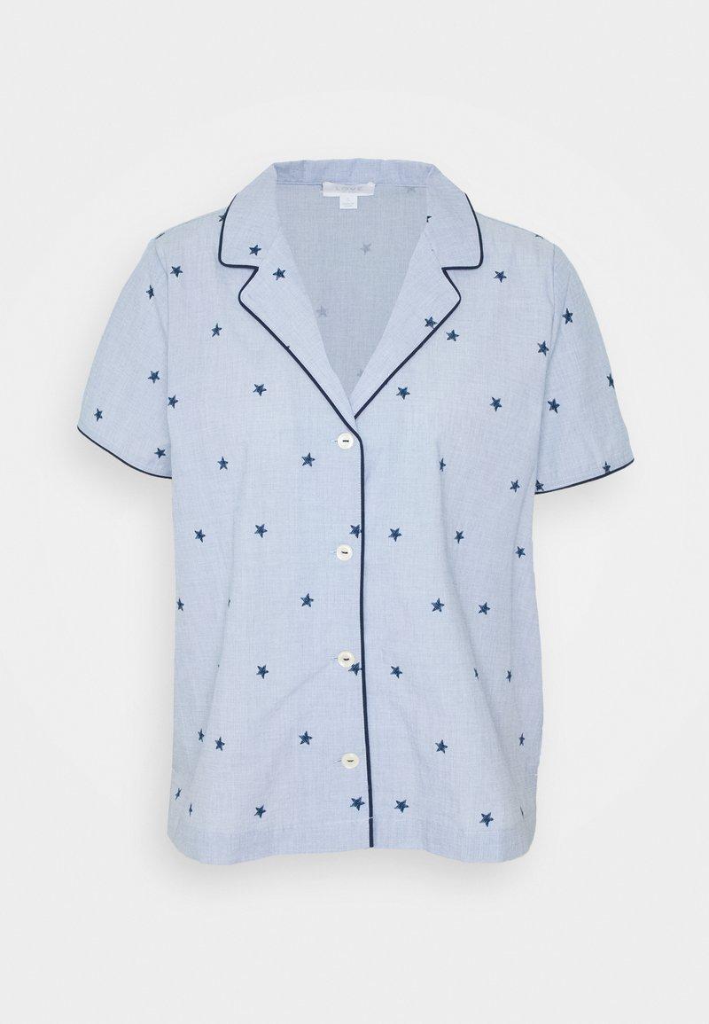 GAP - POPLIN - Pyjama top - blue