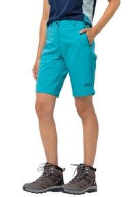 Jack Wolfskin - Outdoor shorts - dark aqua - 0