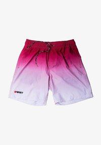 BWET Swimwear - MAROON BEACH - Swimming shorts - maroon - 5