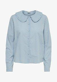 JDY - Button-down blouse - coronet blue - 4