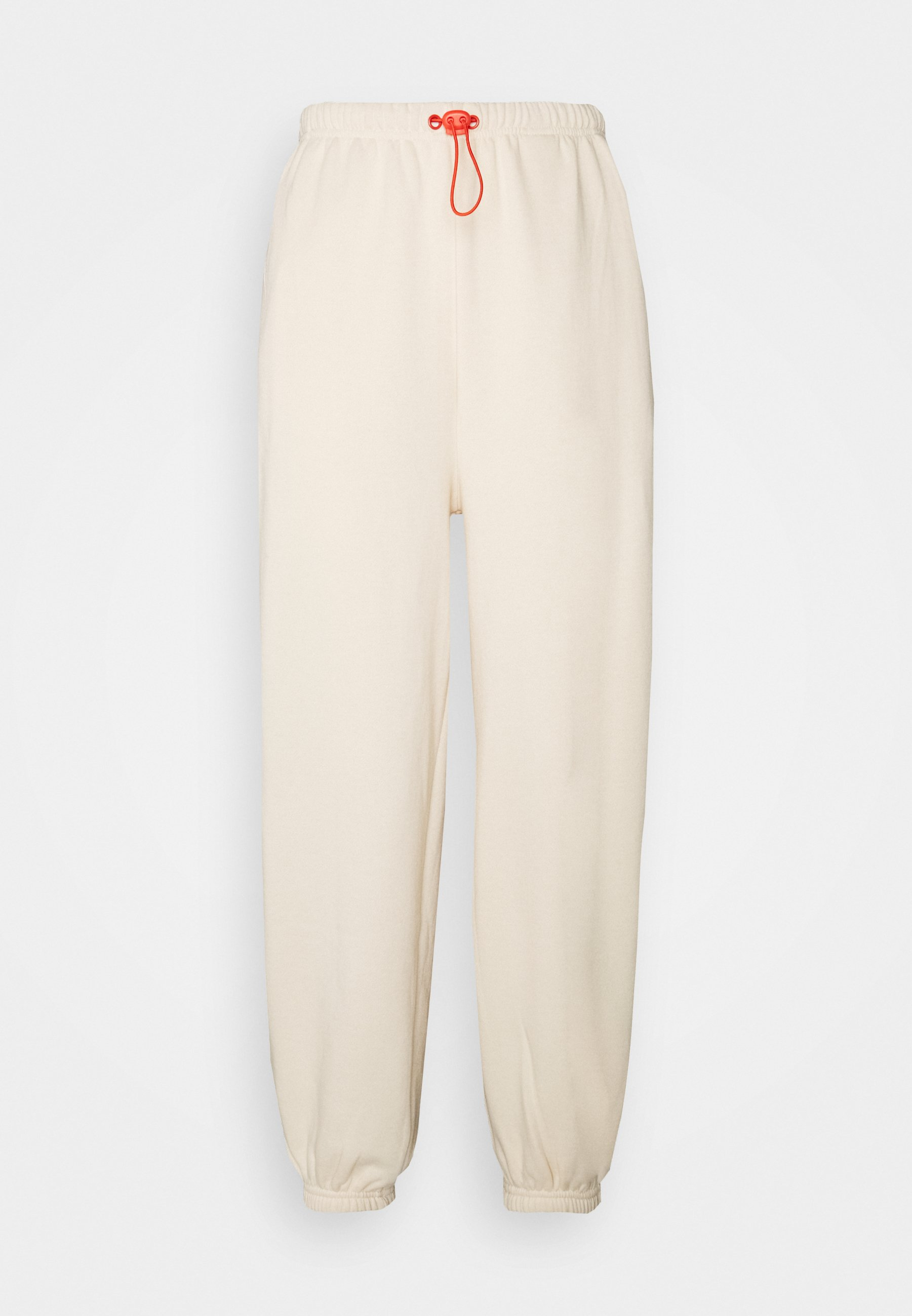 Women Loose Fit Joggers with Contrast - Tracksuit bottoms