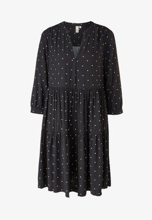Day dress - black dots