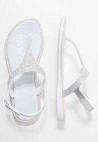 Laura Biagiotti Roma - Sandály s odděleným palcem - silver - 3