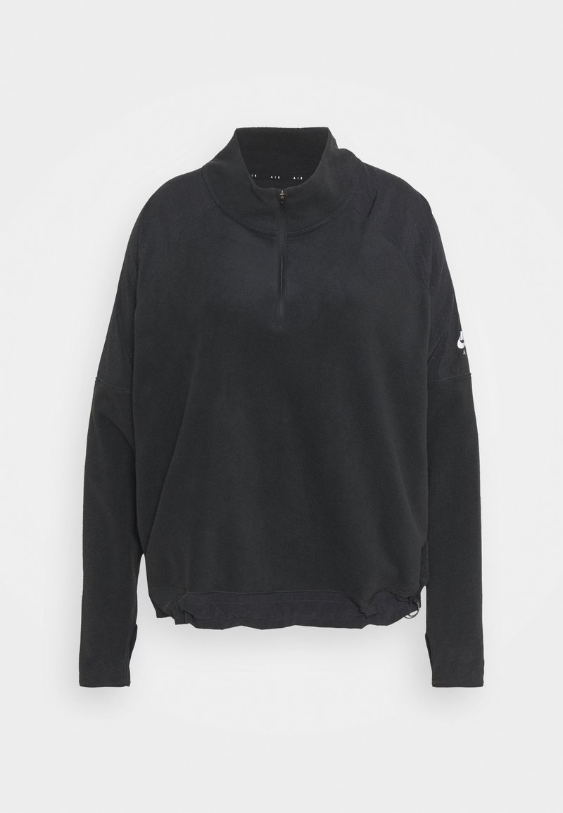 Nike Performance - AIR MIDLAYER - Fleece jumper - black/silver