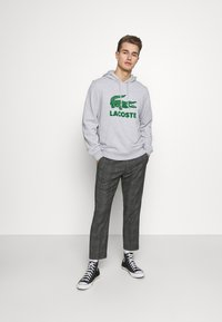 Lacoste - Hoodie - argent chine - 1
