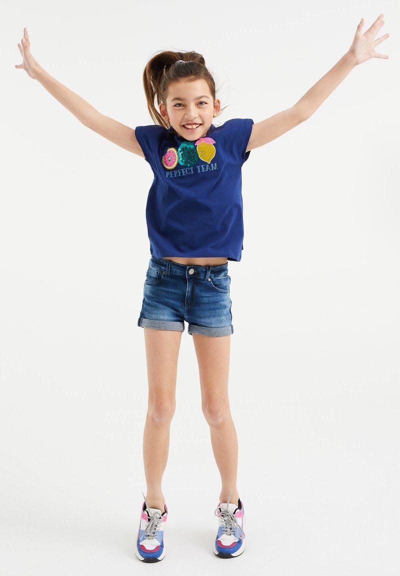 WE Fashion - T-shirt print - blue