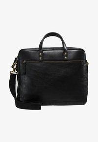 Fossil - DEFENDER - Briefcase - black - 2