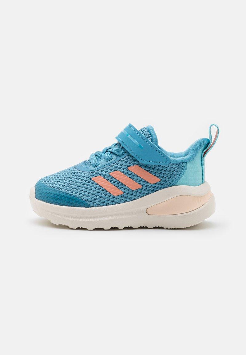 adidas Performance - FORTARUN UNISEX - Obuwie do biegania treningowe - hazy blue/glow pink/hazy sky