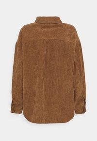 Moves - SAVISA - Button-down blouse - camel - 1