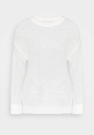 VICHIPPY NECK - Jersey de punto - whisper white
