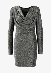 NA-KD - ZALANDO X NA-KD  - Cocktail dress / Party dress - silver - 4