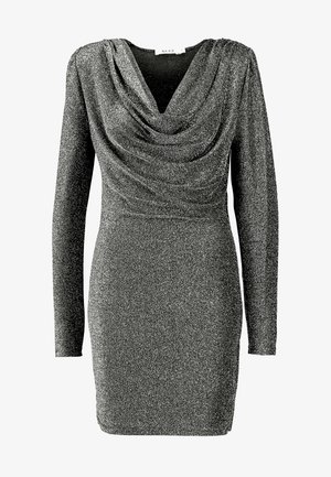 ZALANDO X NA-KD  - Cocktail dress / Party dress - silver