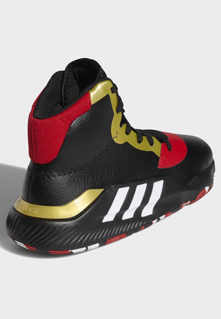 adidas Performance PRO BOUNCE 2019 SHOES - Basketballschuh - black/schwarz - Herrenschuhe kOnqn