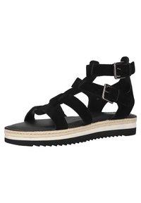 Sansibar Shoes - Sandalen met plateauzool - schwarz - 1