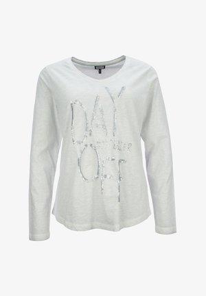 Pitkähihainen paita - hellgrau