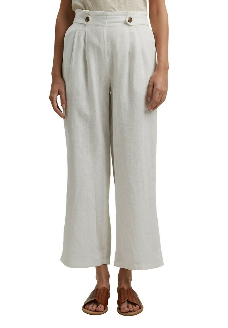 Esprit - Trousers - off white