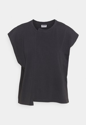 NMDAPHNI - Jednoduché triko - obsidian
