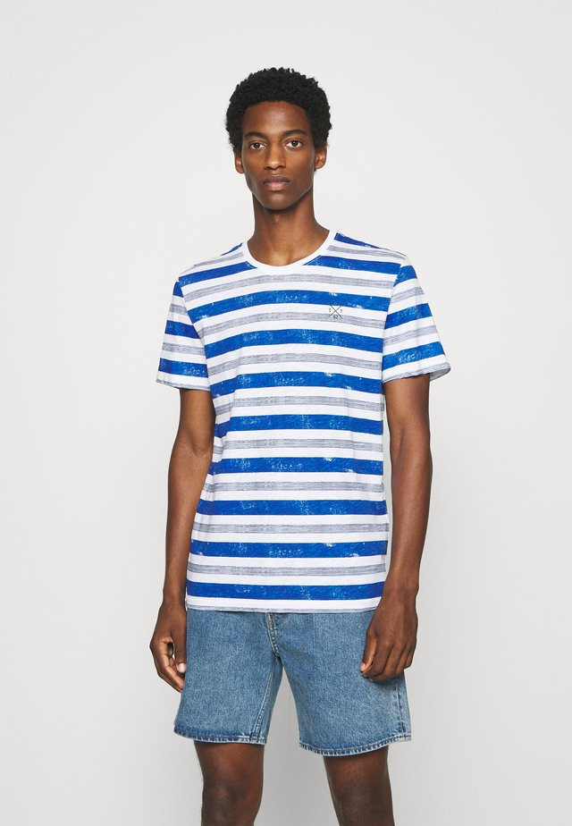 T-shirt imprimé - white-bold/watery