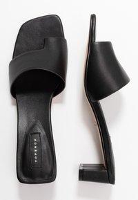 Topshop - NELL TOE LOOP MULE - Infradito - black - 3