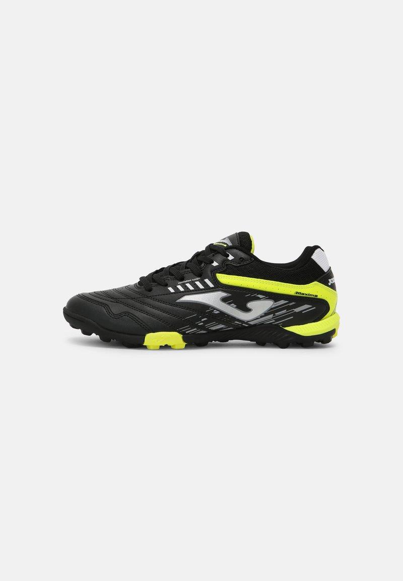 Joma - MAXIMA - Astro turf trainers - black/yellow