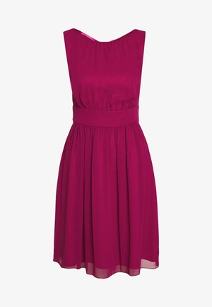 Cocktail dress / Party dress - raspberry