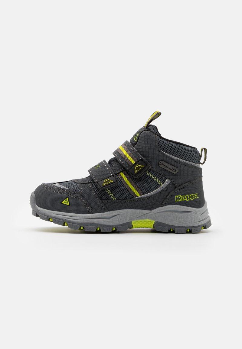 Kappa - HOVET TEX UNISEX - Hiking shoes - grey/lime