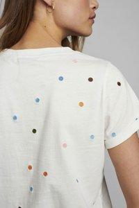 Nümph - NUBRENNAN - T-shirts med print - pristine - 2
