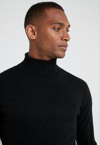 pure cashmere - TURTLENECK  - Pullover - black - 4