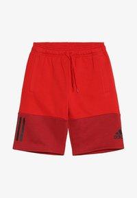adidas Performance - SID SHORT - Krótkie spodenki sportowe - scarlet/maroon/black - 3