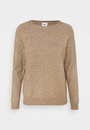 OLMLESLY KINGS - Sweter - beige