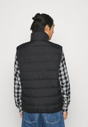 PUFFER GILET - Waistcoat - black