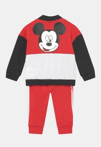 adidas Performance - DISNEY MICKEY MOUSE JOGGER SET - Tracksuit - black/red - 1