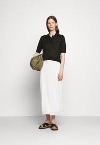 Filippa K - ANGELINE - Polo shirt - black - 1