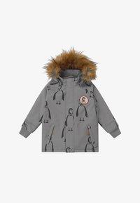 Mini Rodini - PENGUIN - Winter coat - grey - 4