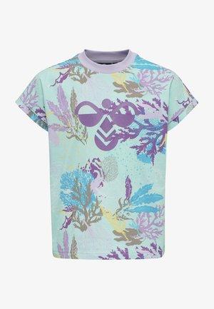 SEA - Print T-shirt - blue tint