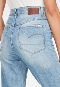 G-Star - 3301 HIGH STRAIGHT 90'S ANKLE - Straight leg jeans - authentic blue - 3