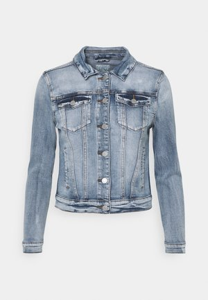 VISHOW JACKET - Jeansjakke - medium blue denim