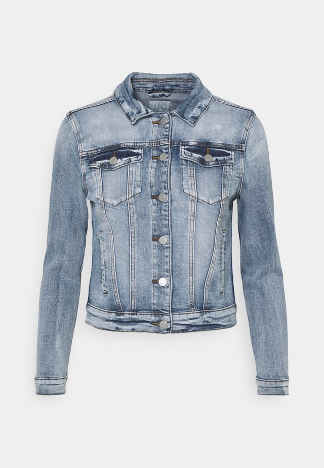 VISHOW JACKET - Spijkerjas - medium blue denim