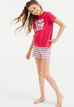 SET - Pyjama set - pink/white
