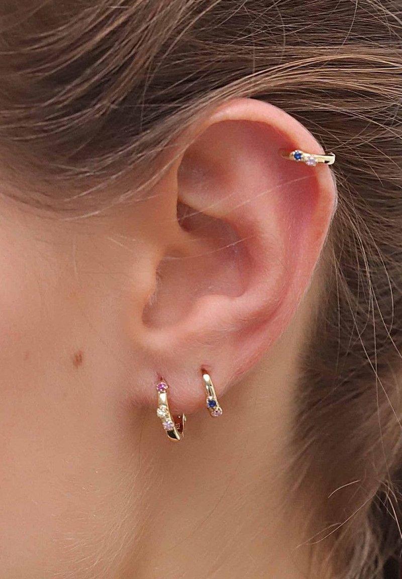 Aran Jewels - MINI AQUAREL - Earrings - oro