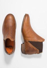 HUB - KIM - Ankle Boot - cognac - 3