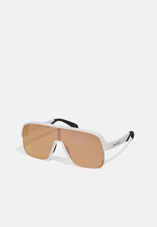 UNISEX - Sunglasses - white/pink