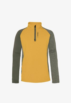 1/4 BOZ 21 JR - Fleece jumper - dark yellow